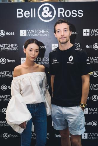 Andrea Chong & Jolyon Palmer