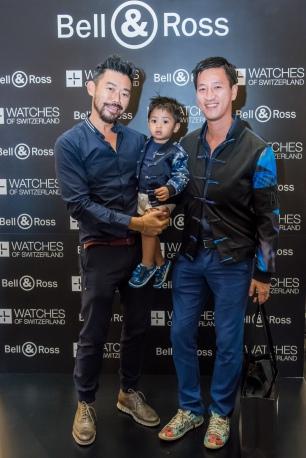 Chuck Yeoh, Bien, Alex Tan