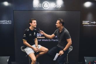 Elliot Danker (ONE FM) and Jolyon Palmer (Interview)
